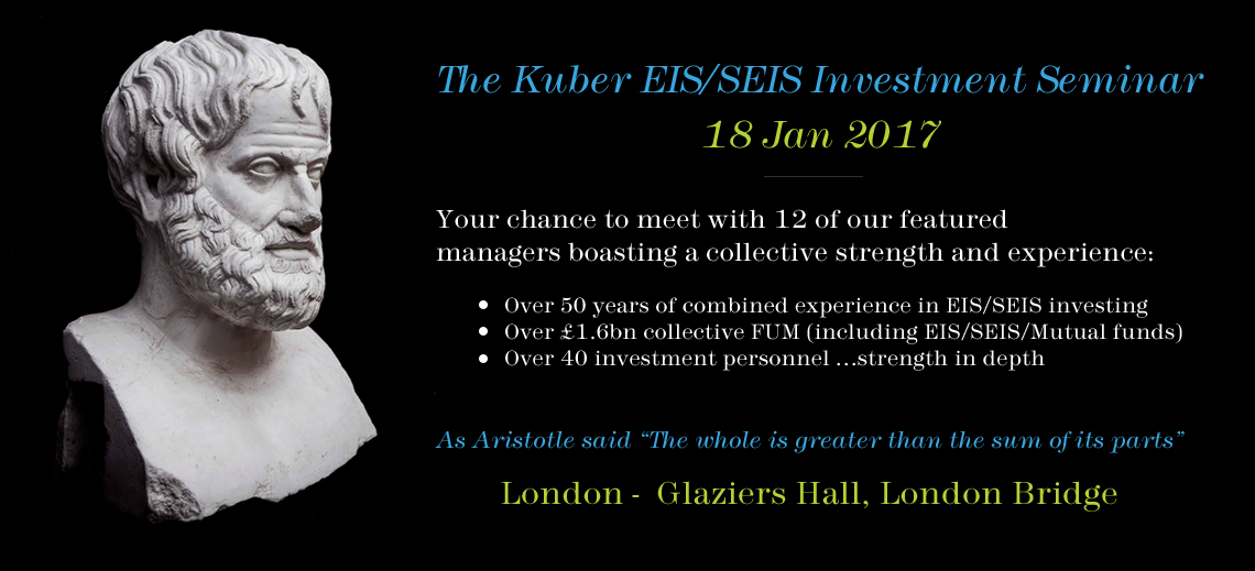 Kuber Aristotle EIS/SEIS London Seminar